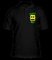 Футболка поло мужская Shuffle Bot