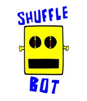 Мужская футболка с длинным рукавом Shuffle Bot