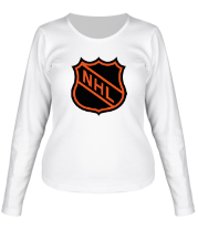 Женская футболка с длинным рукавом NHL