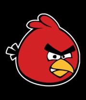 Мужская майка Красная птица Angry bird