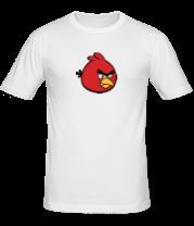 Мужская футболка  Красная птица Angry bird