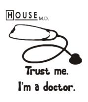 Бейсболка House. Trust me I am a doctor