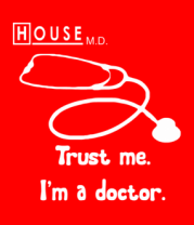 Бейсболка House. Trust me I am a doctor