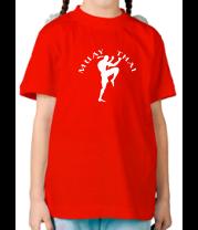 Детская футболка  Муай тай