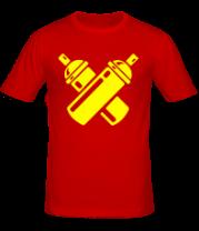 Мужская футболка  Баллоны