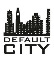 Женская футболка  Default city