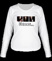 Женская футболка с длинным рукавом House M.D.