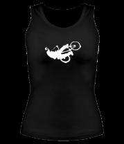 Женская майка борцовка BMX