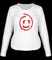 Женская футболка с длинным рукавом Красный Джон