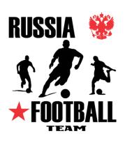 Мужская майка Russia football team