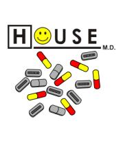 Мужская футболка  House M.D.