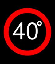 Толстовка без капюшона 40 градусов