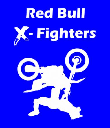 Мужская футболка с длинным рукавом Red Bull X-Fighters
