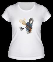 Женская футболка  Аниме