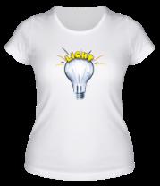 Женская футболка  Light