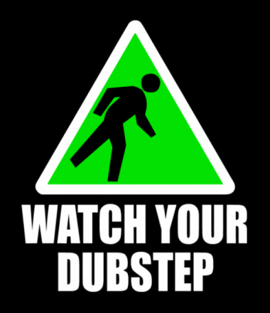 Толстовка Watch your dubstep