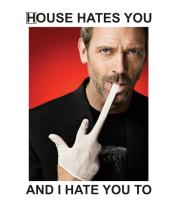 Толстовка House Hates You
