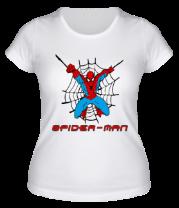 Женская футболка  Spiderman
