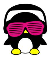 Толстовка Пингвинчик в очках