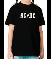 Детская футболка  AC DC