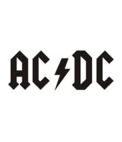 Мужская футболка с длинным рукавом AC DC