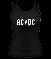 Женская майка борцовка AC DC