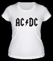 Женская футболка  AC DC