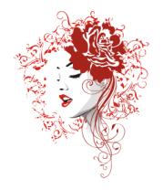 Шапка Rose red