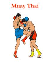 Коврик для мыши Muay Thai