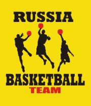Детская футболка  Русский баскетбол