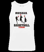 Мужская майка Русский баскетбол