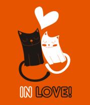 Мужская футболка  In love