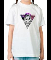 Детская футболка  Кот-космонавт