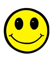 Мужская футболка  Смайл - улыбка