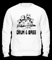 Толстовка без капюшона Drum & Bass