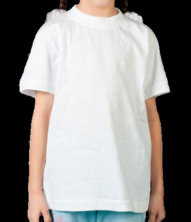 Детская футболка  Без рисунка