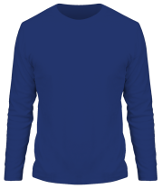 Мужская футболка с длинным рукавом Без рисунка