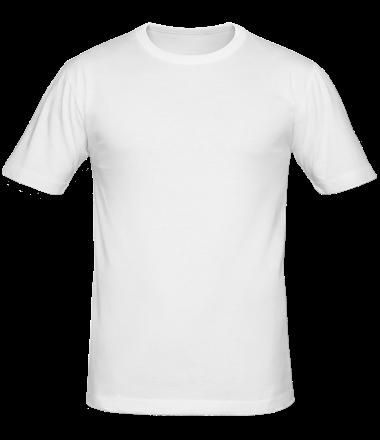 Мужская футболка  Без рисунка