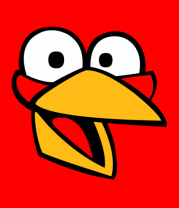 Детская футболка  Angry Birds Jake Face