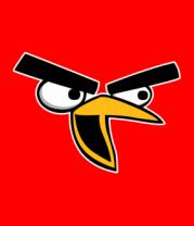 Мужская футболка  Angry Birds Chuck Face