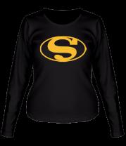 Женская футболка с длинным рукавом Batman Superman
