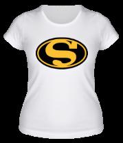 Женская футболка  Batman Superman