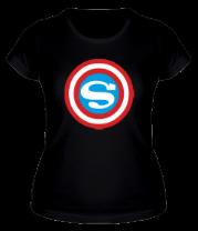 Женская футболка  Captain Superman