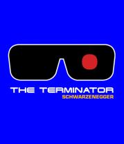 Женская футболка  The Terminator