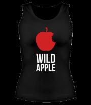 Женская майка борцовка Wild Apple