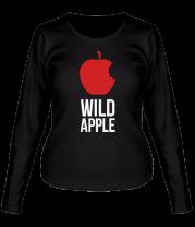 Женская футболка с длинным рукавом Wild Apple
