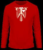 Мужская футболка с длинным рукавом Рентген