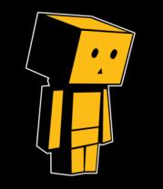Толстовка без капюшона Человек коробка