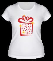 Женская футболка  Новогодний подарок