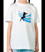 Детская футболка  Sky princess